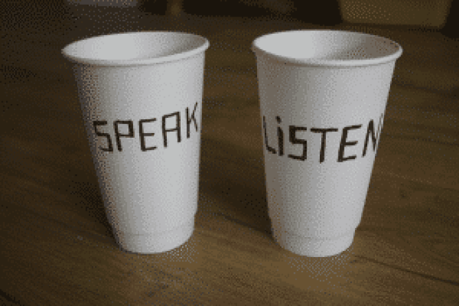 cups 6 300x200 300x200 - What is the secret to good communication in a relationship?