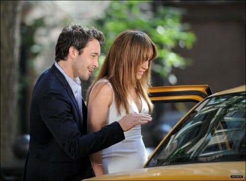 Filming Taxi Scene on The Backup Plan