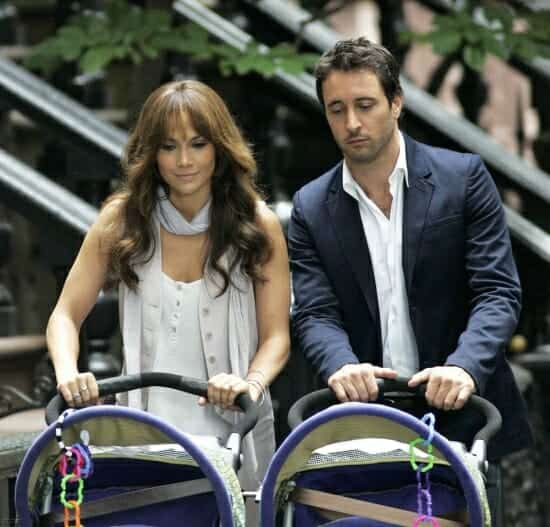 Alex O'Loughlin Pushing Baby Stroller in New York