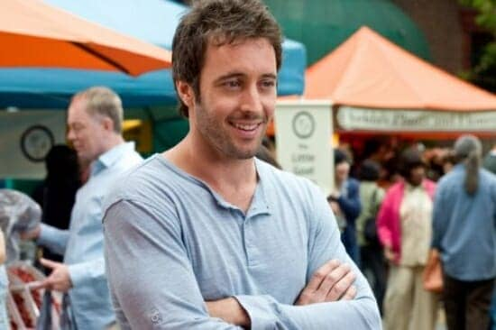 Alex O'Loughlin Chatting about the Movie The Backup Plan