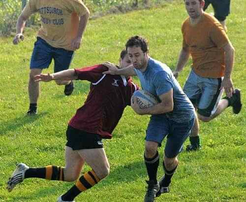 Alex Playing Rugby in Pittsburgh!