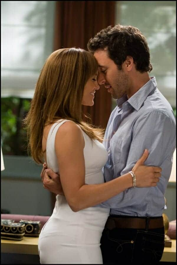 The Backup Plan with Alex O'Loughlin and Jennifer Lopez, aka Stan and Zoe.