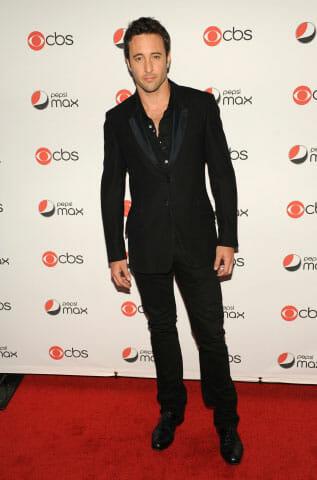 Alex O'Loughlin at the CBS Pepsi Max premiere party