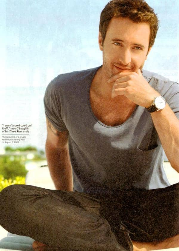 Alex O'Loughlin in TV Guide