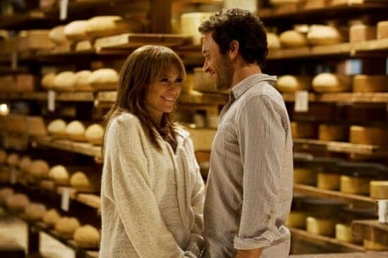 Alex O'Loughlin and Jennifer Lopez in a Winery