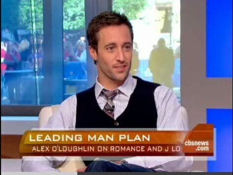 Alex O'Loughlin on The Early Show and Today Show