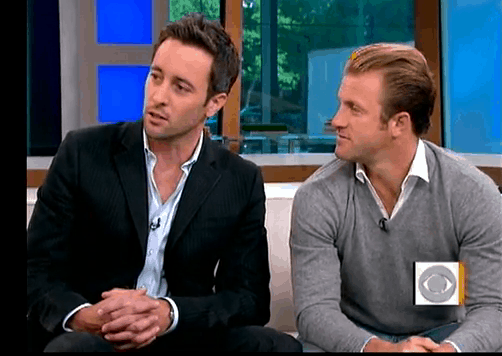 Alex O'Loughlin & Cast of Hawaii 5-O on The Early Show 5/20/2010