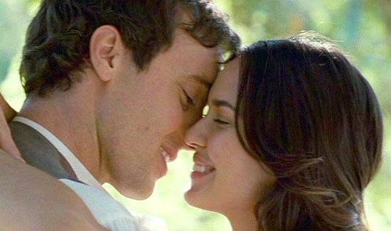 Kissing Alex O'Loughlin for 8 hours