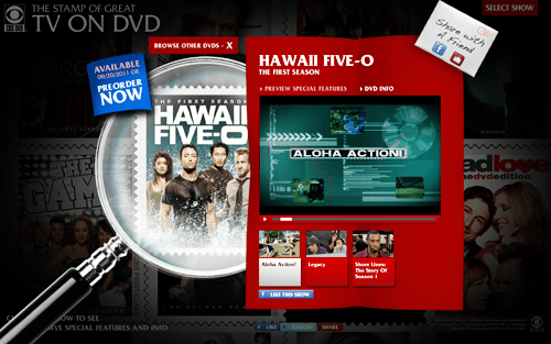 Hawaii Five-0 Season One DVD – Special Features