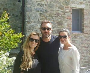 Alex O'loughlin and Ivana Canovic- June 6