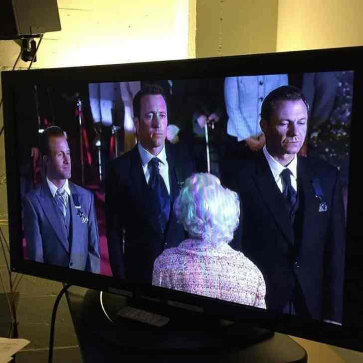 Shot from Hawaii Five O
