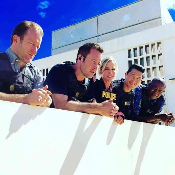 Hawaii Five O team shot season 7
