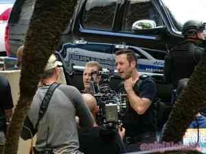 Alex O'loughlin shooting Hawaii Five O