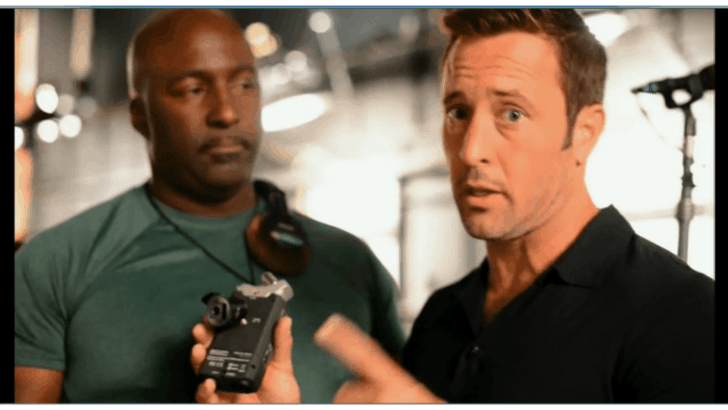 Behind The Scenes with Alex O'Loughlin