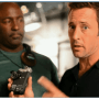 BTS with Alex O'loughlin