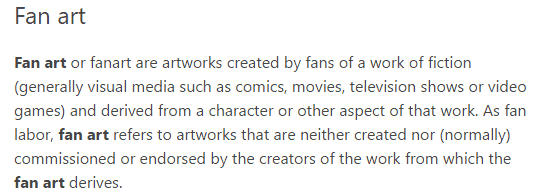 fan-art-definition