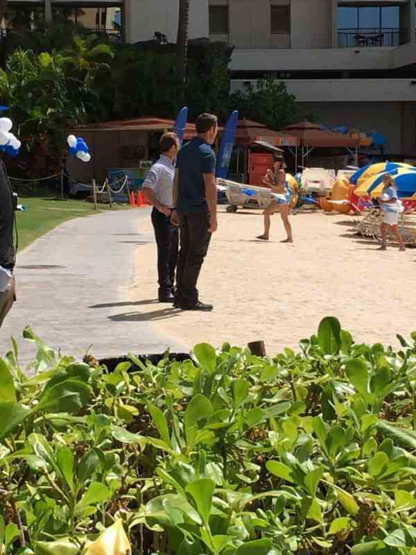 Alex O'Loughlin at HIlton Hawaiian Village