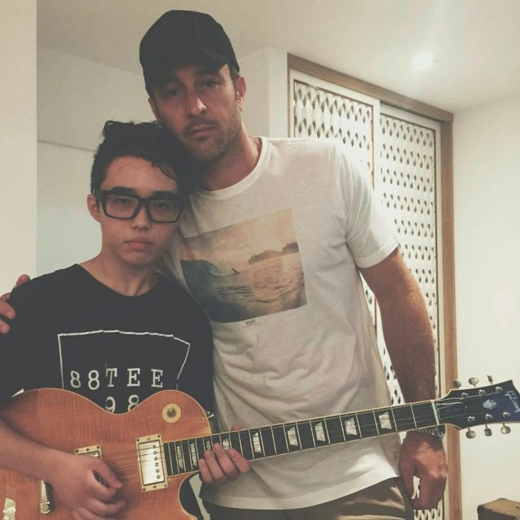 aiden James and alex o'loughlin