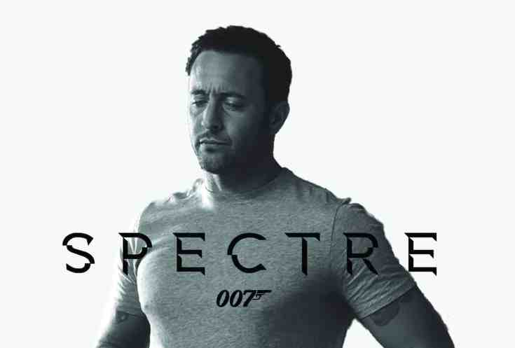 Alex O'Loughlin 007 Spectre