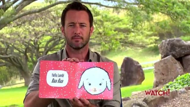 Alex O'Loughlin storytime