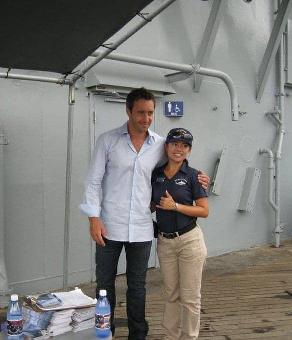 Alex O'Loughlin behind the scenes season 1