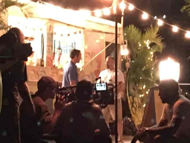 "Alex O""Loughlin behind the scenes"