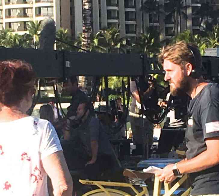 alex o'loughlin and scott caan at hilton lagoon