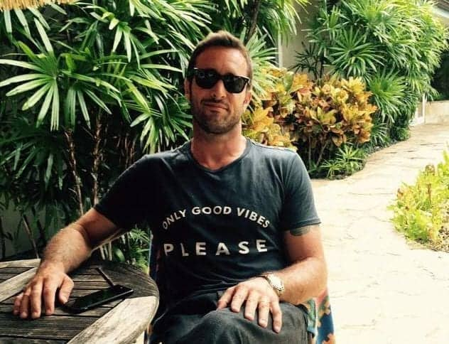 alex o'loughlin good vibes