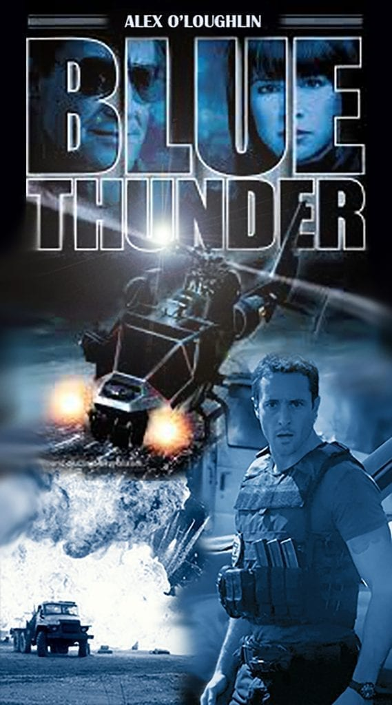 Alex O'Loughlin fanart movie poster