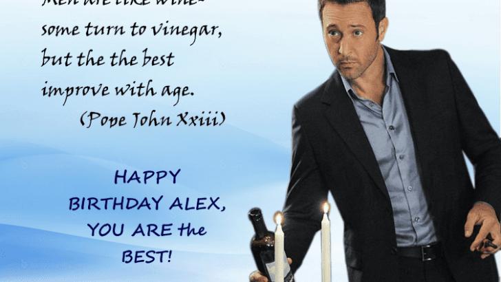 Alex O'Loughlin – Improving With Age
