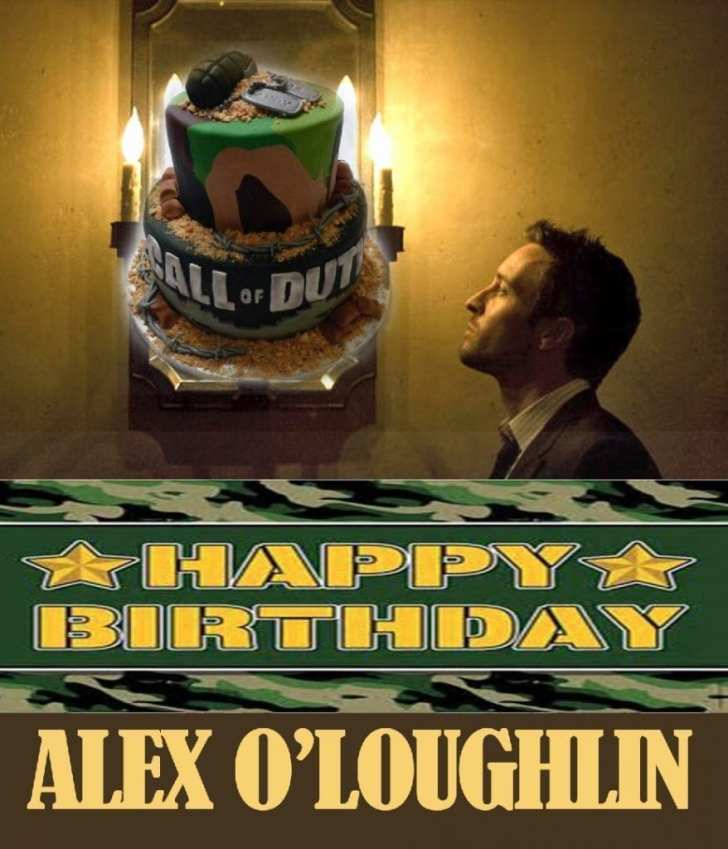 Happy Birthday Alex O'Loughlin