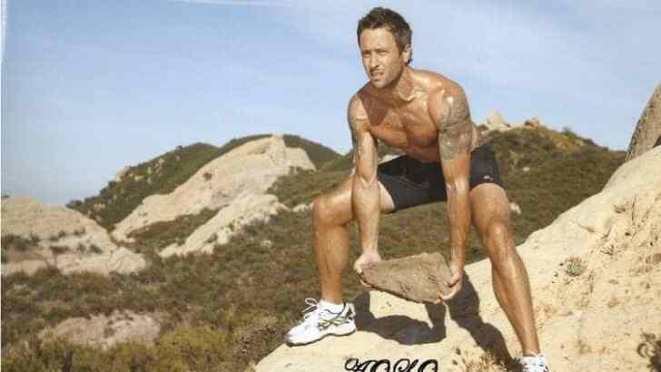 Alex O'Loughlin Men's Fitness Photoshoot – Rare Photos