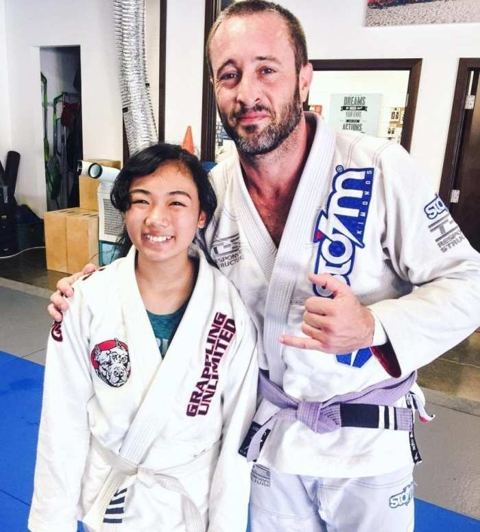 alex o'loughlin at grappling unlimited
