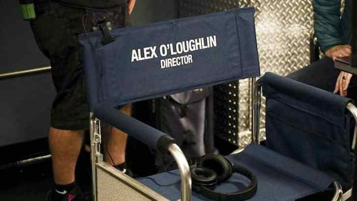 alex o'loughlin directors chair