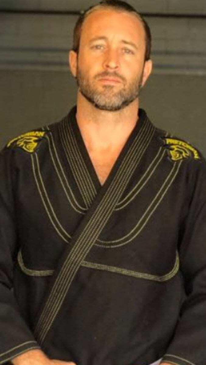 Alex O'Loughlin brazilian jiu jitso