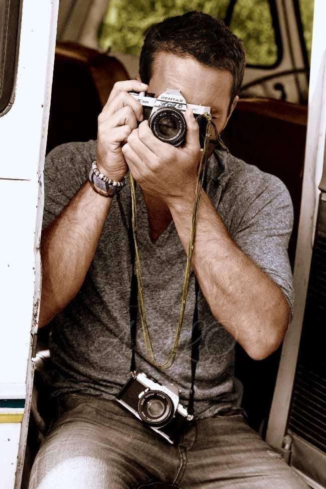 Alex O'Loughlin Cosmopolitan photoshoot
