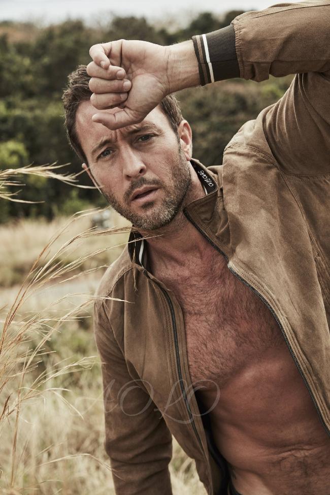 Alex O'Loughlin shirtless photoshoot
