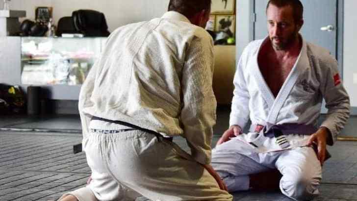 Alex O'Loughlin- Beverly Hills Academy Jiu-Jitsu Classes