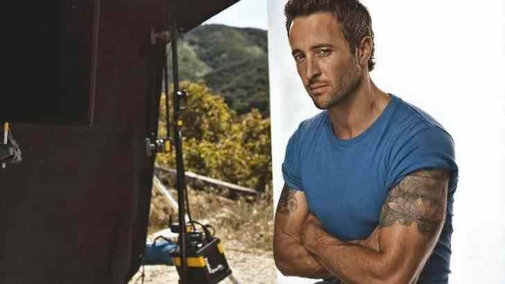 Alex O'Loughlin Tattoo Day