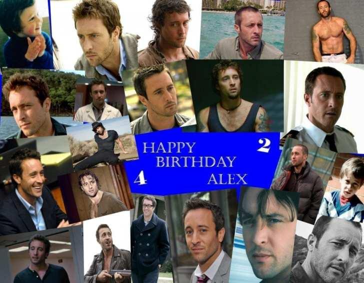 Alex O'' Loughlin 42nd birthday