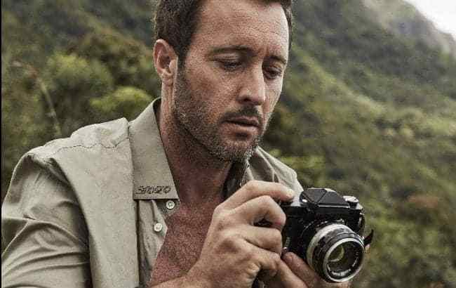 Alex O'Loughlin- Photography Day