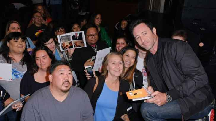 Alex O'Loughlin Brings His A-Game To The Paley Center Event