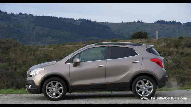 2013 Buick Encore Review and Road Test with IntelliLink Infotainment Review