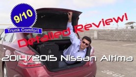 2014 and 2015 Nissan Altima Detailed Review and Road Test