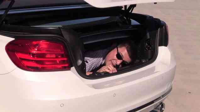 2014 BMW 435i Trunk Comfort Index