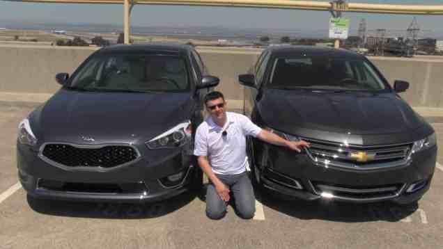 2014 Chevrolet Impala vs 2014 Kia Cadenza Review and Road Test