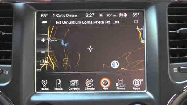 2014 Chrysler Dodge RAM Jeep uConnect 2 / uConnect 8.4 Navigation Review