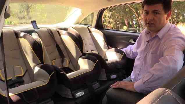 2014 Ford Focus Sedan Child Seat Review