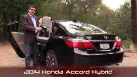 2014 Honda Accord Hybrid Child Seat Review