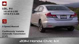 2014 Honda Civic EX Review and Road Test